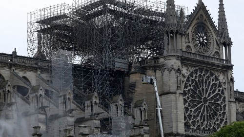 No sign of arson in Notre-Dame blaze as nation grieves