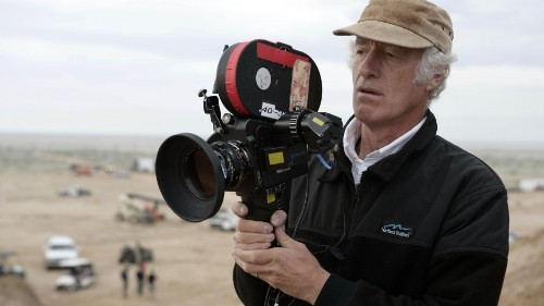 Cinematographer Roger Deakins doesn't just shoot pretty pictures