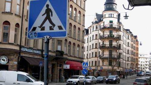 Many Americans want to behave more Swedish on the road