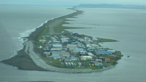 Will these Alaska villagers be America's first climate change refugees?