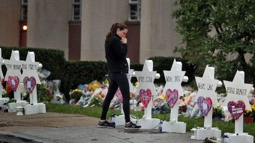 Pittsburgh synagogue attack, extremism in Brazil, Ai Weiwei in America