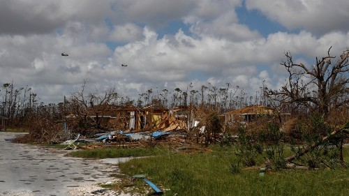 Bahamas relief efforts complicated by new storm headed for the islands