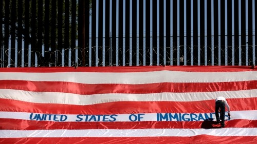 Thousands of asylum-seekers left waiting at the US-Mexico border