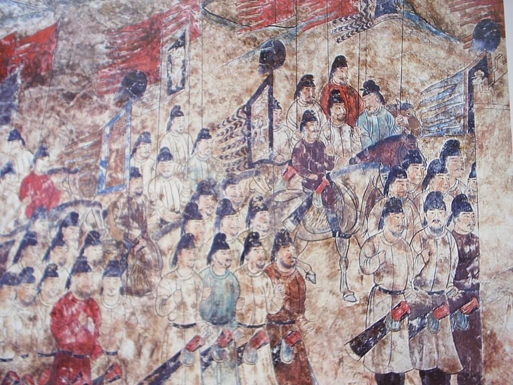 丝绸之路的壁画 - Magazine cover