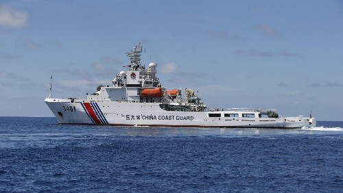 China illegally cordoned off a huge part of the South China Sea for military drills—and will likely do so again