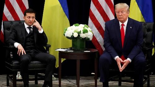 "Ukraine's president is being dubbed ""Monica Zelensky"" at home"