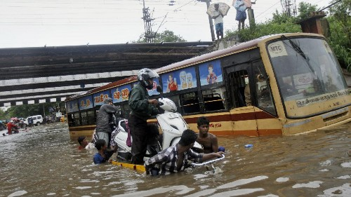 A major Indian city has been underwater for almost a month now