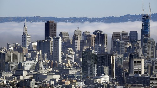 San Francisco is America's richest major metropolitan area, rising above Washington DC in the latest rankings