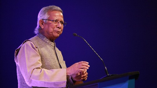 Nobel winner Muhammad Yunus wants two financial systems—one for the rich and one for the poor