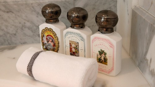 Removing mini-shampoos from hotels won't save the environment