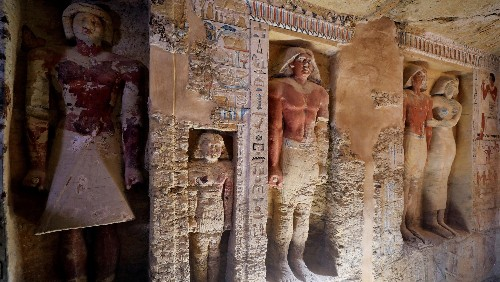 Archaeologists have unearthed a 4,400-year-old Egyptian tomb in immaculate condition