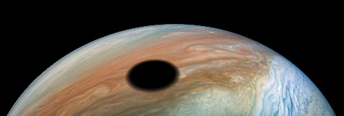 NASA Juno orbiter captures solar eclipse on Jupiter