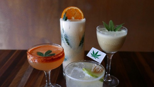 California is celebrating the end of weed prohibition with cannabis cocktails