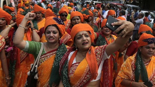 WhatsApp is driving women in India to vote like never before