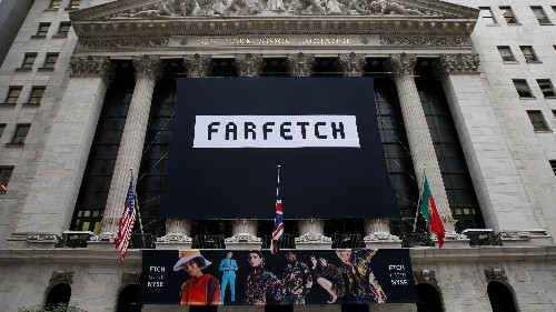 The luxury e-commerce startup Farfetch was just valued at over $8 billion