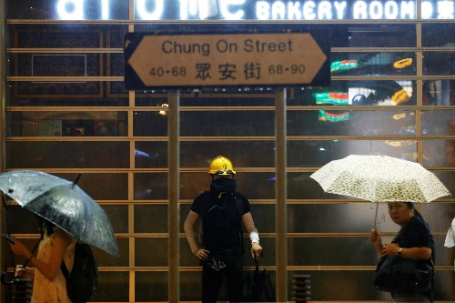 Real-time maps warn Hong Kong protesters of poliec