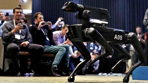 Boston Dynamics' Spot may be used as a battle bot