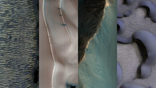 NASA just released 1,000 weirdly beautiful photos of the incredible landscapes on Mars