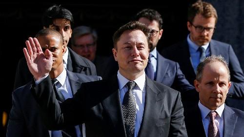 Tesla turns a profit