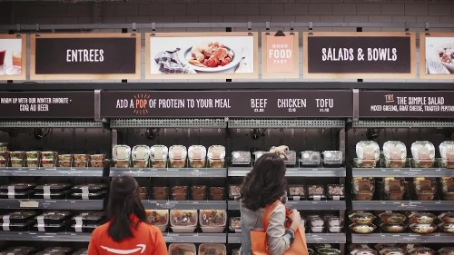 Amazon (AMZN) launches a new grocery store called Amazon Go that could mean the end of checkout lines—and millions of cashier jobs