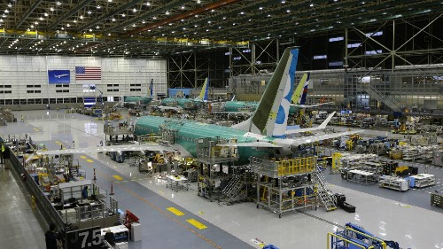 Boeing is in a transitional phase, but investors didn't cut it any slack today