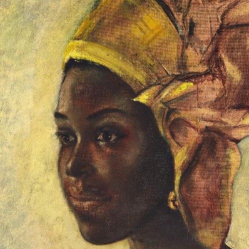 Nigerian artist Ben Enwonwu painting sold by Sotheby's at $1.4m