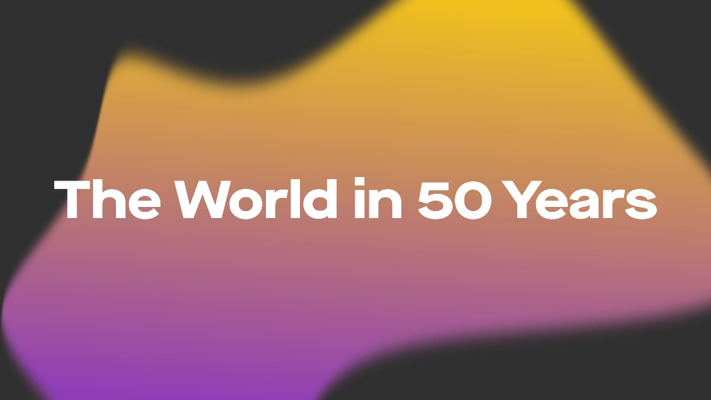 What will the world look like in 50 years?