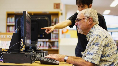 Senior citizens' use of computers and mobile phones might shave 10 years off their mental age