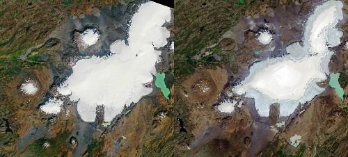 Funeral honors Iceland's Okjökull glacier, climate change victim