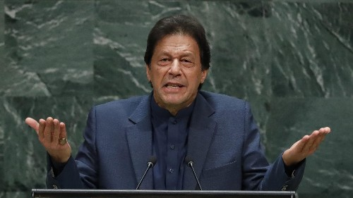"Imran Khan at UNGA: ""There is no such thing as radical Islam"""
