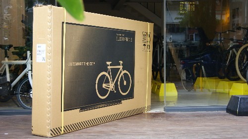 VanMoof: A Dutch bicycle start-up came up with a genius design trick to protect its products from shipping damage