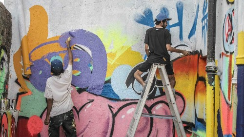 One of Mumbai's oldest fish markets is getting a funky street-art makeover