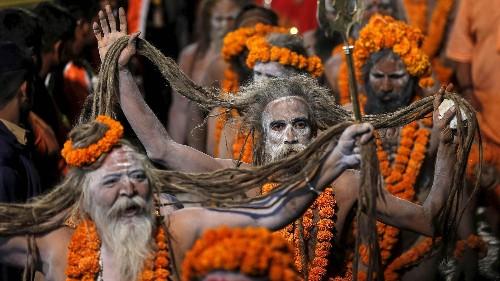 Kumbh Mela: Stunning photos of India's festival of naked saints