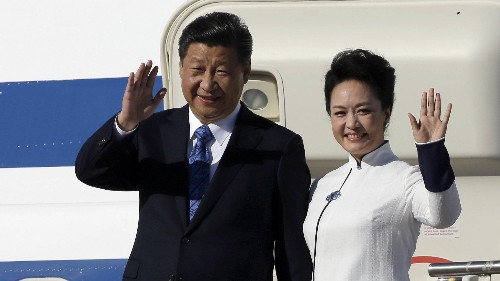 China arrests an American businesswoman for stealing state secrets, just as its president visits the US
