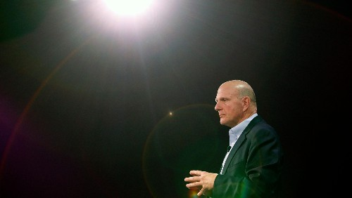 Steve Ballmer played a powerful part in Microsoft's comeback