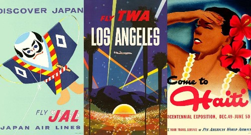 These Mad Men-era posters will make you long for the glory days of flying