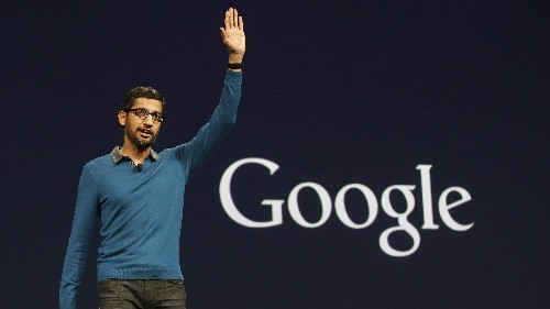 Looking back at the rise of Google's new CEO, Sundar Pichai