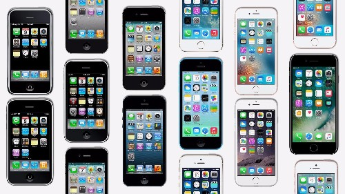 The 10-year evolution of the iPhone