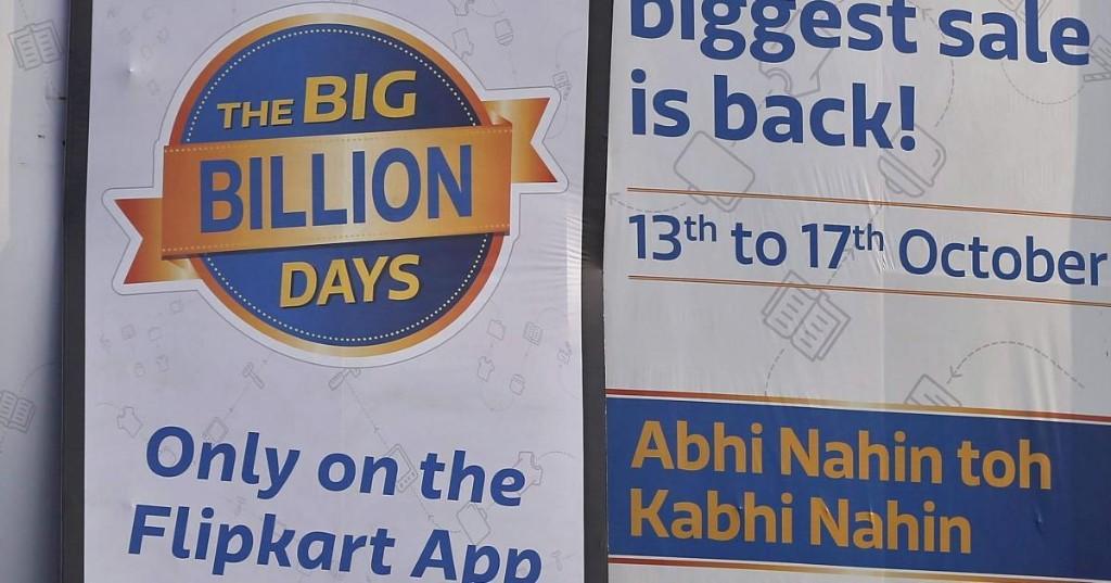 Flipkart made its way into more Indian smartphones than Amazon this festive season