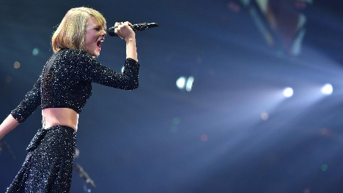Why one of the biggest names in streaming music says Taylor Swift is a hero