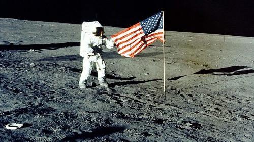 The origin of moon landing conspiracy theories