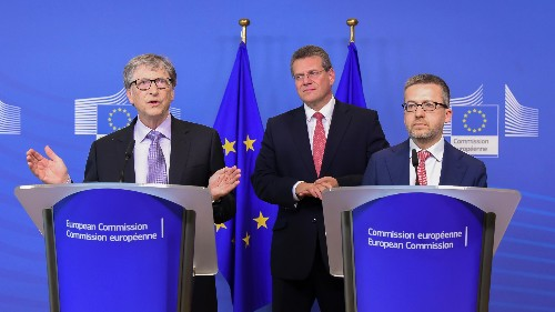 With a new €100 million clean-energy fund, Bill Gates is helping Europe be bolder
