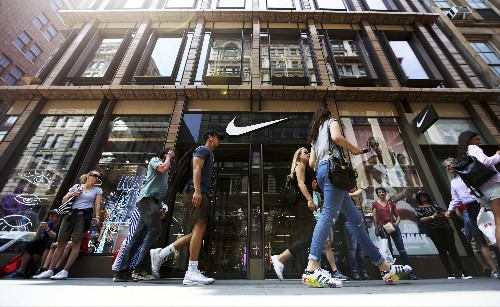 Nike's iron grip on the sneaker market is slipping