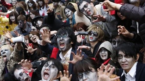 Zombies once destroyed Japan's economy—now they're infecting China's