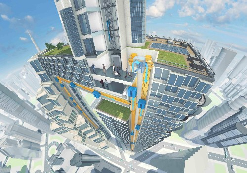Maglev elevators are coming that can go up, down, and sideways