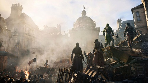 """The new """"Assassin's Creed"""" game is reviving an ancient debate over the French Revolution"""