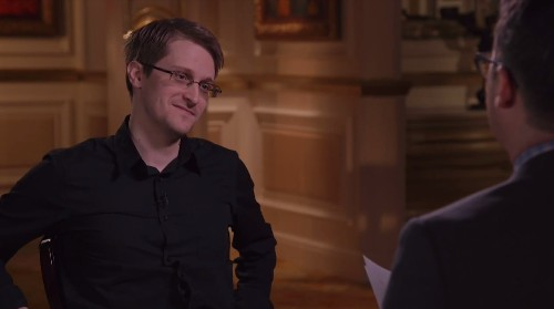 Video: John Oliver meets Edward Snowden and isn't afraid to ask the tough questions