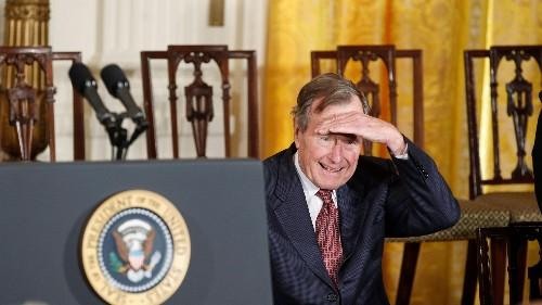 "George H. W. Bush's letters show his ""kinder, gentler"" side"