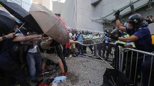 """What is the meaning of the umbrellas in Hong Kong's """"Umbrella Revolution""""?"""