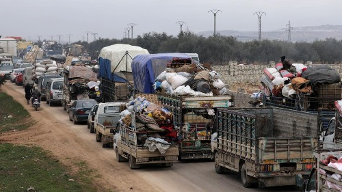 The Syrian conflict is again displacing record numbers of people